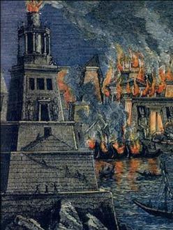 library-alexandria-destruction
